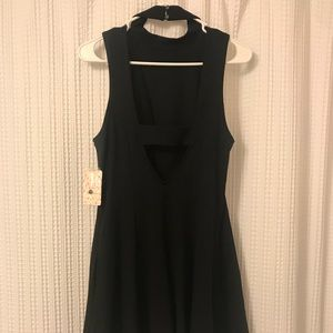 Brand new BLACK FREE PEOPLE DRESS